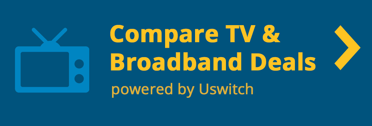 Compare broadband deals online with Uswitch
